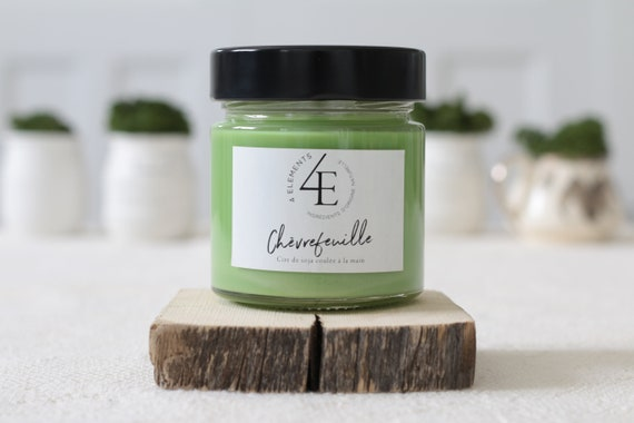 Candle Honeysuckle-honeysuckle candle (delivery fast Purolator 2 days)