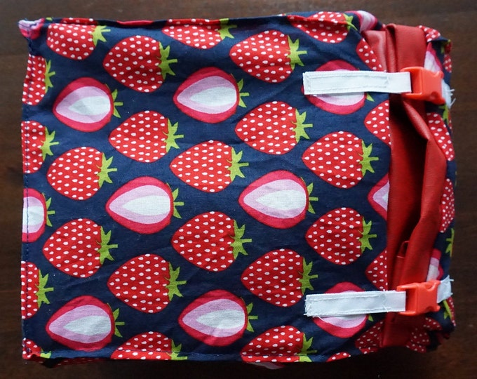 Featured listing image: Lunch bag, jack saunks, lunch, bath bag, breakfast, strawberries, sandwich bag