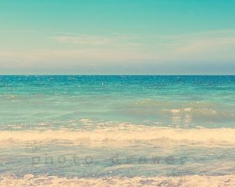 Beach Print, Beach Art, Beach Wall Decor, Beach Decor, Waves, Coastal Print, Printable Wall Decor, Coastal Wall Art, Fine Art Photography