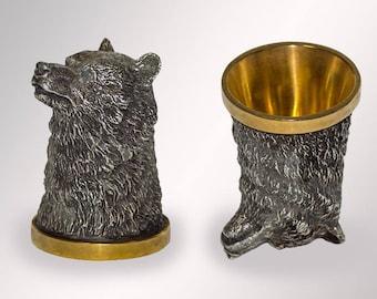 "figurine of the riton ""The Bear"""
