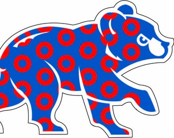 Phish Cubs Wrigley Field Sticker