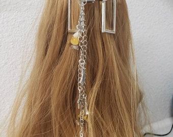 Decorative Hairclips, Barrette, Hair Jewels, Gender Reveal, Accessories, Hair pins, Moon, Stars, Hearts, Gators, Hair Decoration, Barrett