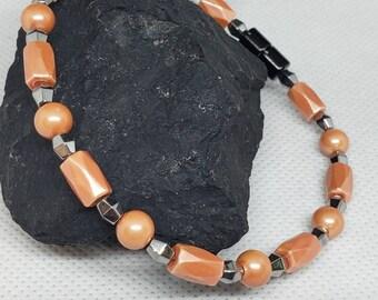 OgZ DeZigns Magnetic Hematite Bracelet, Unisex Bracelet, Gift for Her, Magnetic Bracelet, Hematite Bracelet, Aventurine Bracelet, Jasper