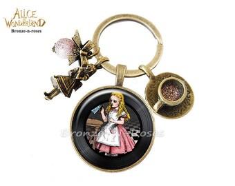 Key * Drink me * Alice in Wonderland costume glass jewel