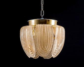 Small Vintage suspension in Murano glass