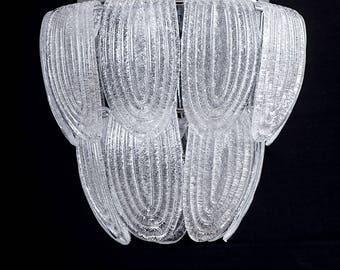 Vintage suspension in Murano glass