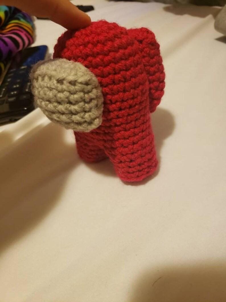 Among Us Crocheted Crewmate