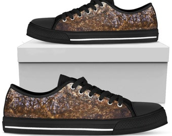 Men s Low Top Converse Shoe - Wet Rock Design Gift for Man Sneakers Classic  Gift for Man 4bc10db0596d