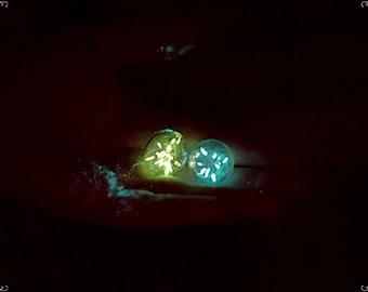 Glow in the dark, Dandelion seeds, Floristics, Bright dandelion seeds, Dandelion fluff,  Dandelion for jewelry, Shines in dark