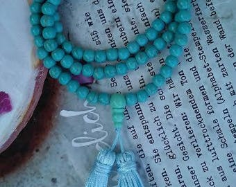 Turquoise Tibetan Buddhist Meditation Prayer Beads