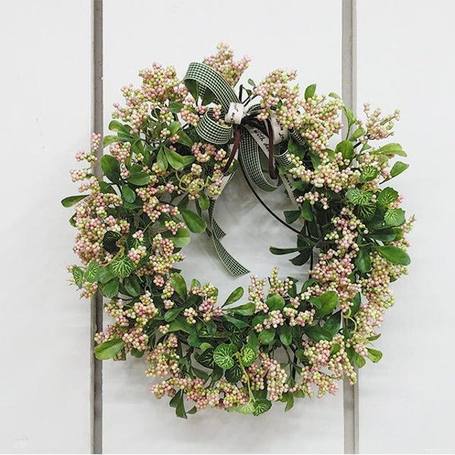 Artificial Berry Wreath Door Wreath Front Door Wreath | Etsy
