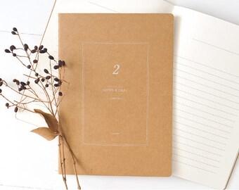 A5 Kraft Notebook[Journal] / Stitch Notebook / N-09 / 1402209