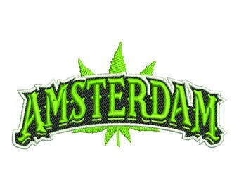 3D AMSTERDAM-embroidery design ~ INSTANT DOWNLOAD ~ Machine Embroidery Pattern