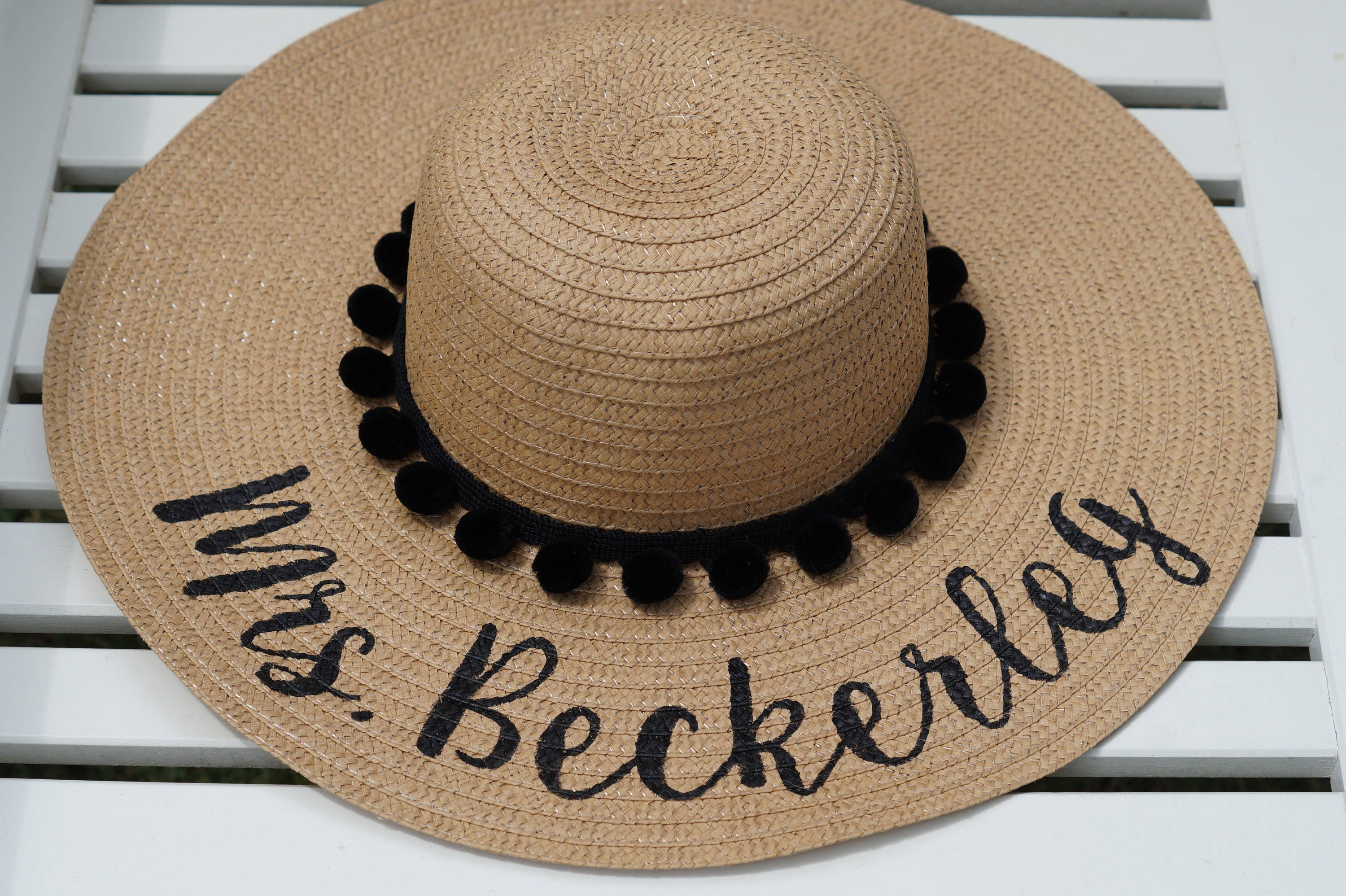 Custom beach hat   Beach Hat   Beach Hats   Personalized beach  264652ca330