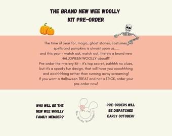 Crochet Kit - Mystery Halloween Amigurumi Crochet Kit