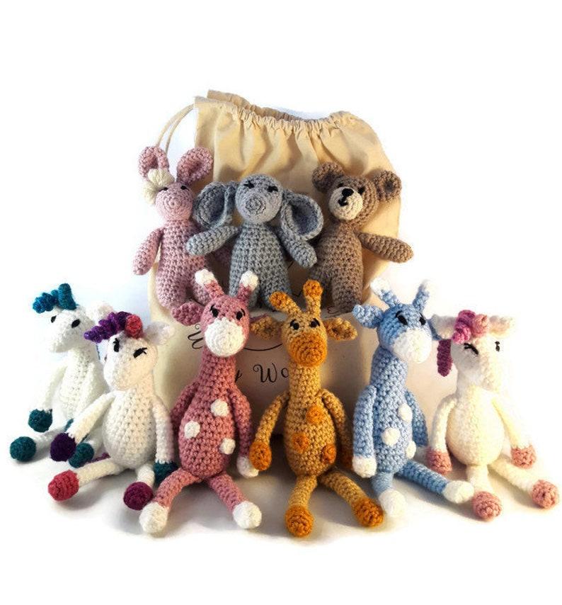 Safári Baby: conheça os novos Kits Amigurumi! • Círculo S/A | 854x794