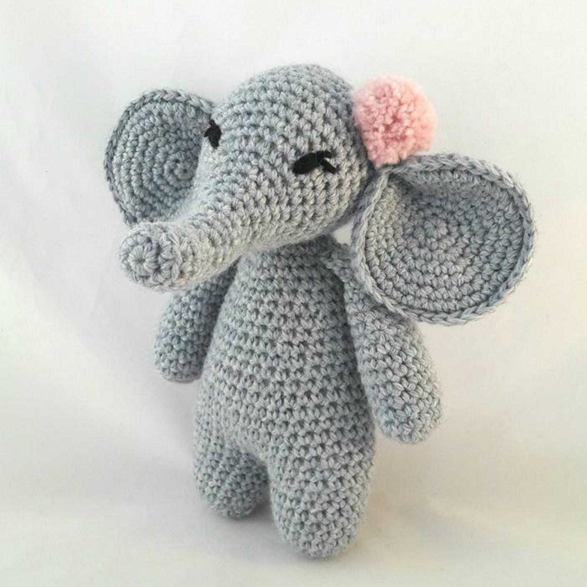 Amigurumi Cute Girl Elephant Free Crochet Pattern - Amigurumilove.pinto.live | 2048x2048
