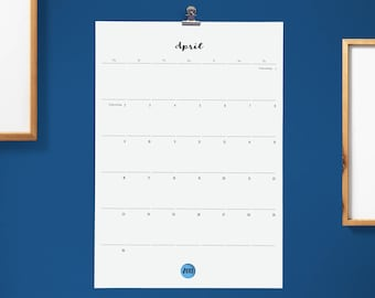 Large Monthly Calendar   Wall Calendar 2017/2018   DIN A3   Gift when moving
