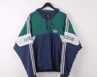 a6431c287 Vintage Adidas XL Green Jacket