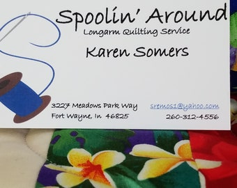 Spoolin Around Longarm Quilting Service