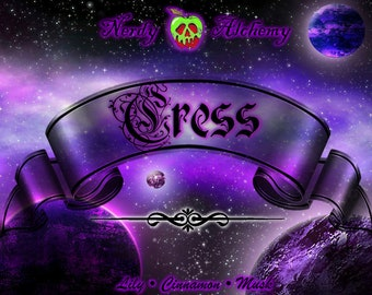 Cress - The Lunar Chronicles Inspired Soy Candle