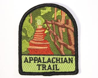 Official Appalachian Trail Souvenir Patch from Great Smoky Mountains National Park Iron-on FREE SHIPPING Scrapbooking