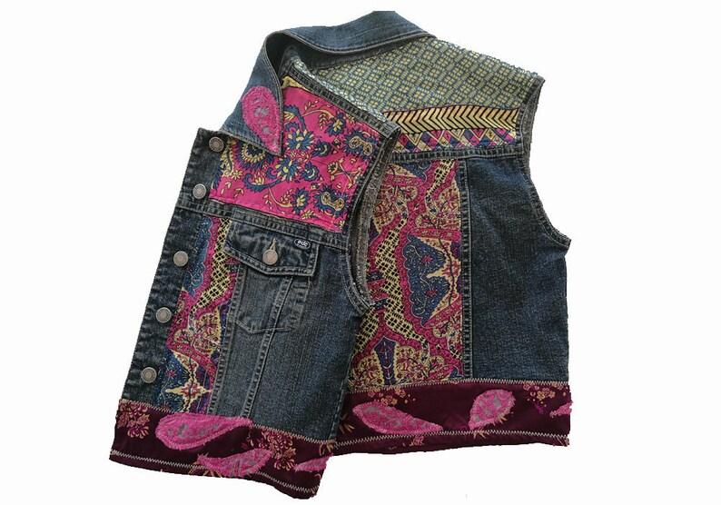 3b86690b81 Custom made jeans jackets. Embellished jeans jacket Boho   Etsy
