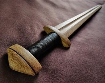 Wooden Viking Sword - Handmade