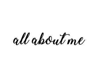 All About Me Art Etsy