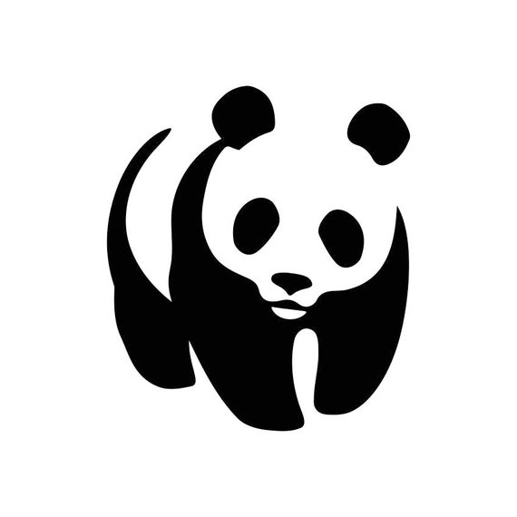 panda bear cute graphics svg dxf eps png cdr ai pdf vector art etsy