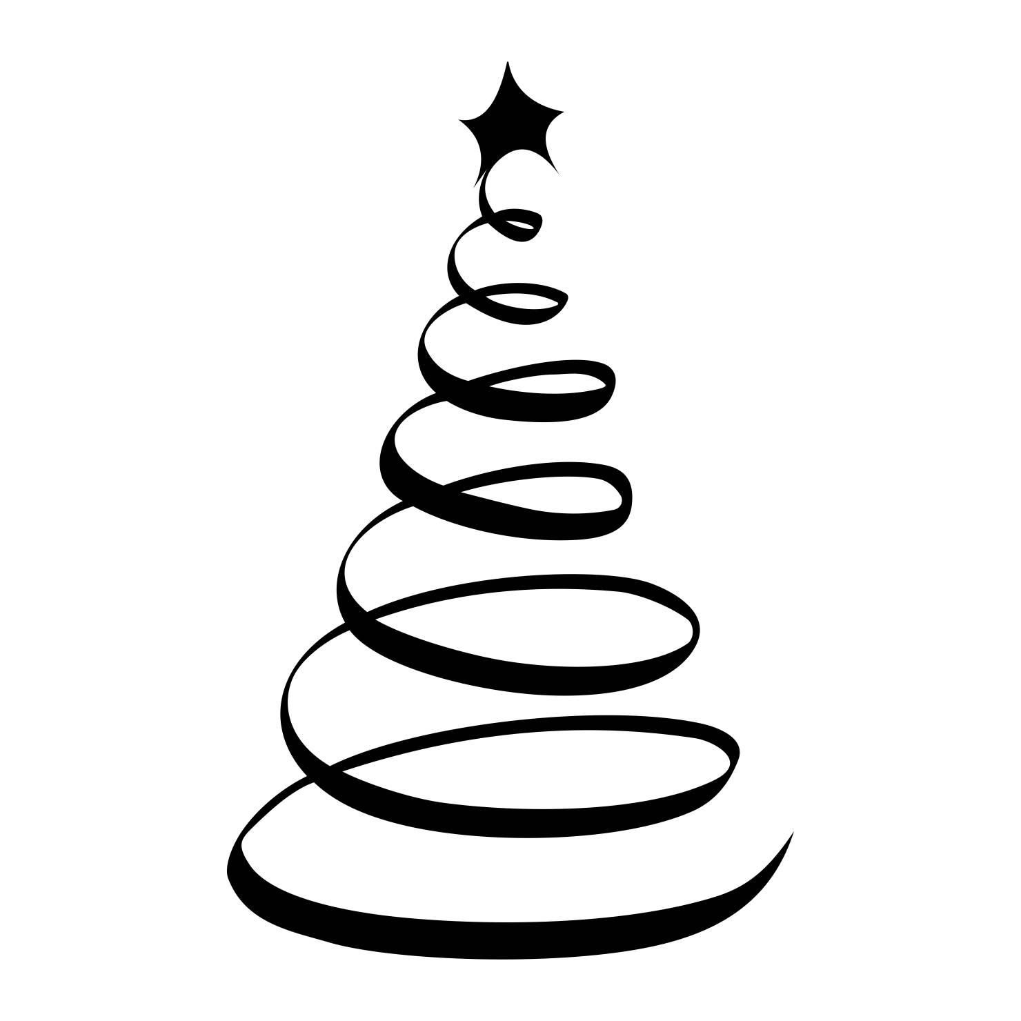 Silueta Arbol De Navidad Png Niza Regalos De Navidad 2019