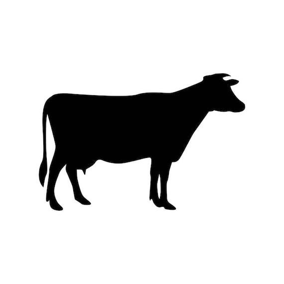 cow farm animals graphics svg dxf eps png cdr ai pdf vector art rh etsystudio com cow vector images free cow vector art