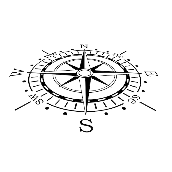 Himmel Kompass Grafiken Svg Dxf Eps Png Cdr Ai Pdf Vektor