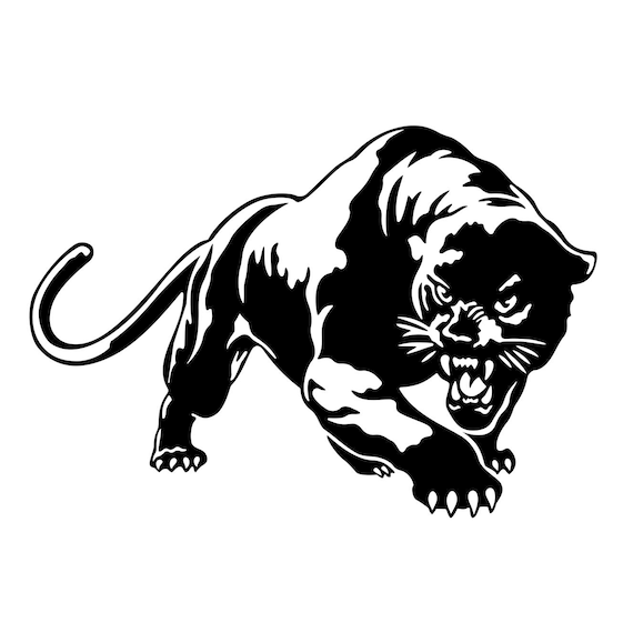 Puma Cougar Panther Graphics SVG Dxf EPS Png Cdr Ai Pdf ...
