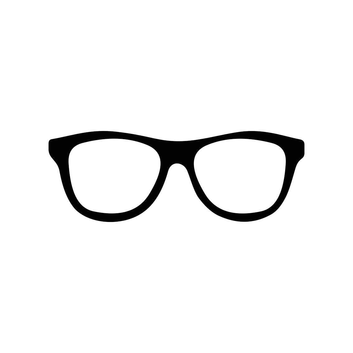 Hipster Glasses Graphics Svg Dxf Eps Png Cdr Ai Pdf Vector Art Etsy