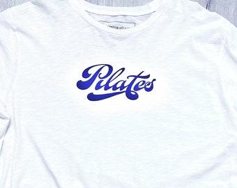 Men's Pilates Shirt 100% Cotton, Pilates Shirt for Men, Pilates Man's T-Shirt, Oversized Pilates T-Shirt, Cotton Pilates Tee, XXL Pilates