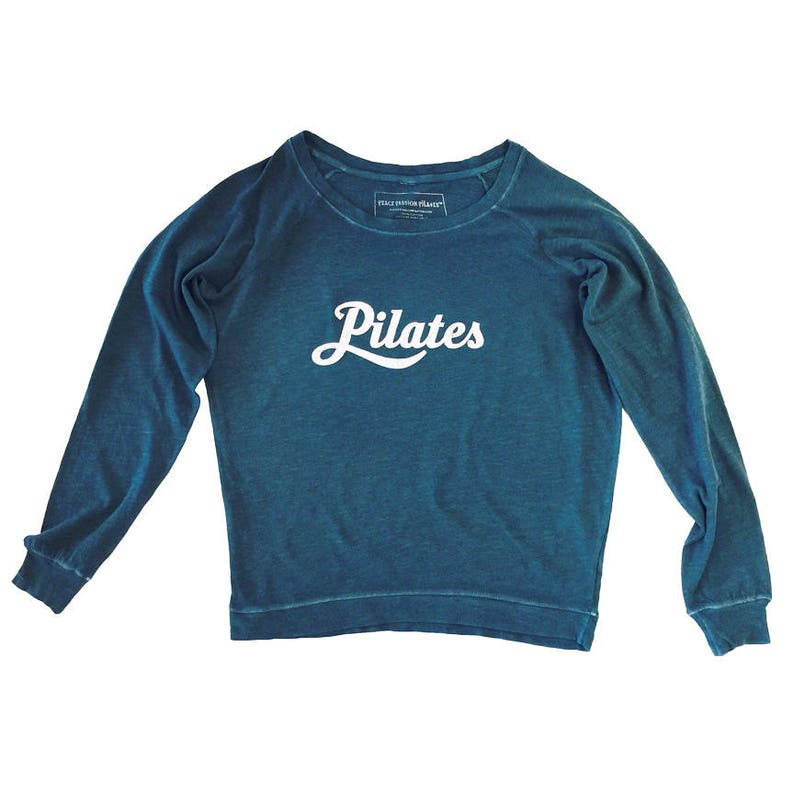 Pilates Long-Sleeved Tee Pilates tee Pilates T-Shirt image 0