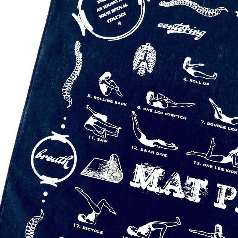 Pilates Exercises Pilates Exercise Chart Pilates Travel Mat image 0