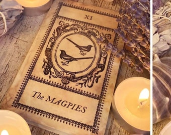 Witches Oracle Deck for Oracle, Tarot Work, Affirmation etc. 32 Tarot Size Picture Cards + Guide Cards. Oracle Deck. Tarot Deck.