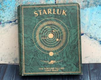 Starluk Fortune Telling Game. 1939  Fortune Telling Game. John Waddington Ltd. Fortune Telling Cards. Fortune Telling Game. Oracle. Tarot