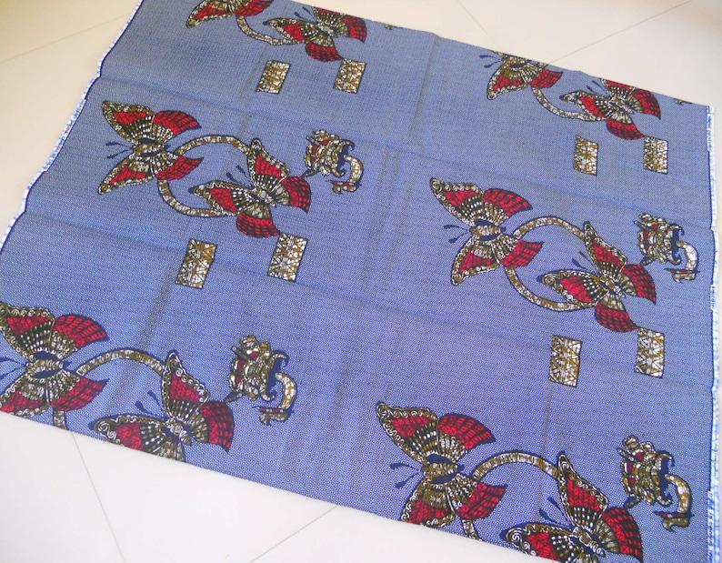 Grey african fabric ankara fabric with butterflies cotton african print grey boho fabr fabric by the yard grey fabric butterfly fabric