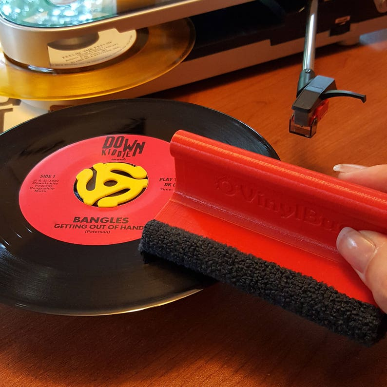 VinylBug Solo  Handheld Vinyl Record Cleaning Brush with image 0