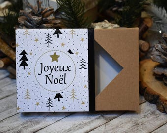 Christmas original chocolates, gifts, Christmas tree gold - original Christmas gift - box chocolates Noël Originale