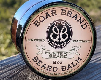 "Beard Balm, Boar Brand ""Hunter's Beard"""