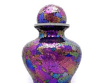 Cremation Urn, Pink Sunset, Adult