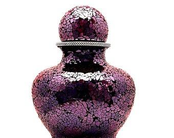 Cremation Urn, Dark Burgundy, Large