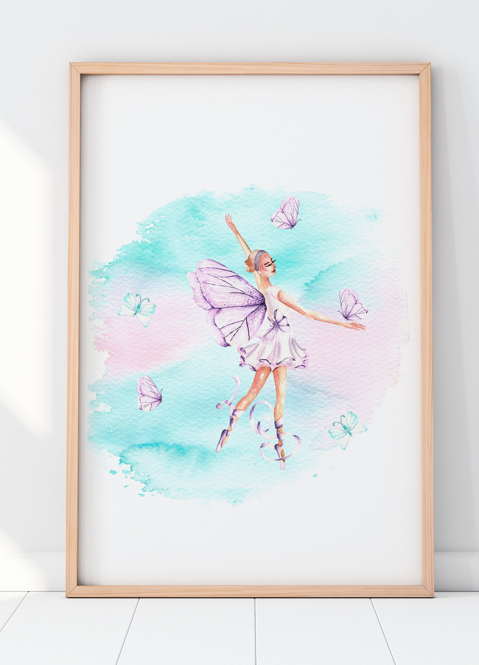 printable ballerina wall art for ballerina nursery | ballet wall art girls ballerina decor | ballet print cute ballet art | ball