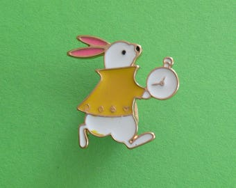 Badges rabbit from Alice in Wonderland from Disney