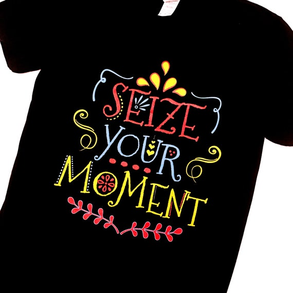 Disney Pixar COCO Inspired Unisex Seize Your Moment Logo