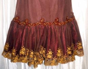 Anthopologie Lithe Wintergarden Skirt sz. L